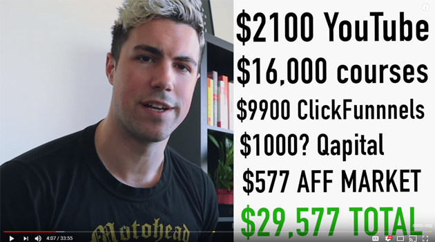 Clark Kegley youtube income