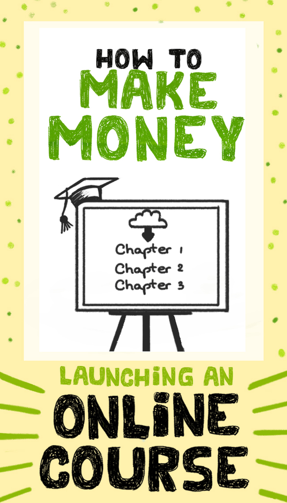 How to make money launching an online course