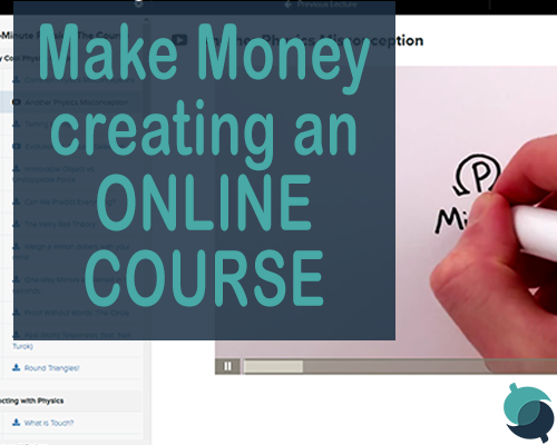 make money with an online course