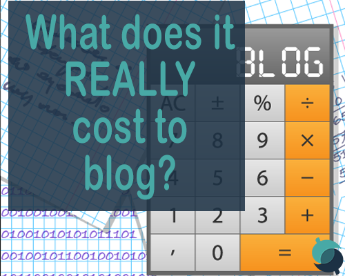 what does it cost to blog
